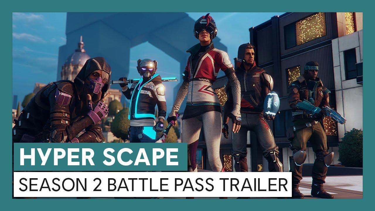 Hyper Scape: Season 2 Battle Pass Trailer | Ubisoft