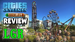 LGR - Cities: Skylines Parklife Review (Video Game Video Review)