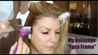How to Balayage - Face Frame