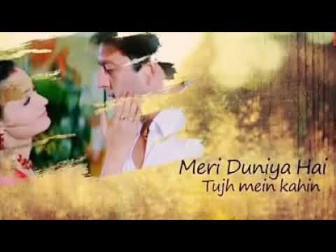 💖 meri duniya hai tujhme kahin 💖 lovely song lyrics 💖 whatsapp.