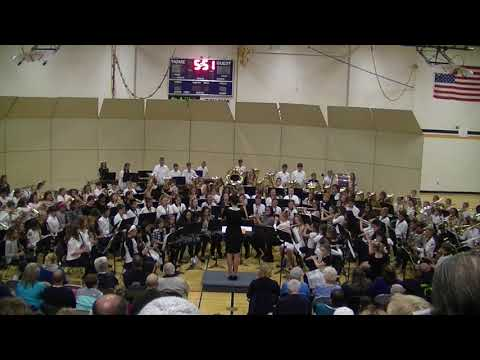 JYMS 6th Grade Band Fall Concert