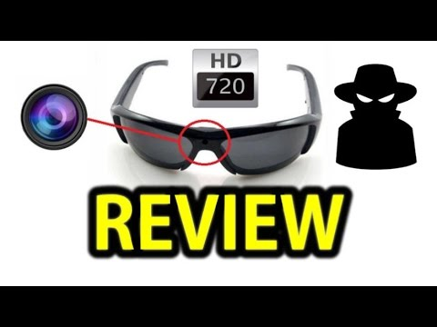 Review: HD 720P Spy Video Sunglasses from E-Bay Hong Kong