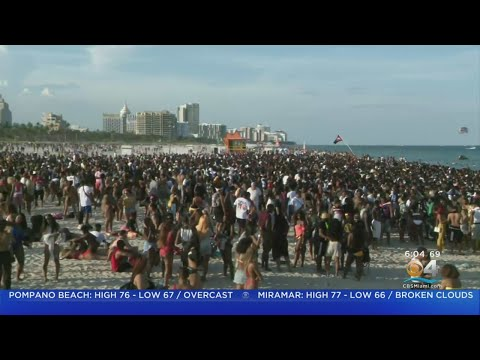 Residents Say Miami Beach Spring Break Crowd Is Out Of Control