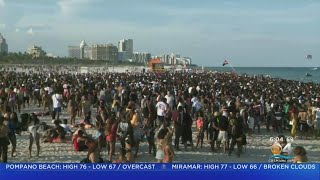Residents Say Miami Beach Spring Break Crowd Is Out Of Control thumbnail