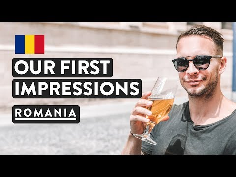 BUCHAREST OLD TOWN - FIRST IMPRESSIONS | City Center | Romania Travel Vlog