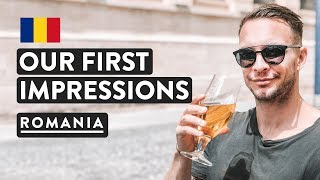 BUCHAREST OLD TOWN - FIRST IMPRESSIONS City Center Romania Travel Vlog