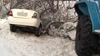 Жуткая авария на автодороге Саяногорск-Черемушки.