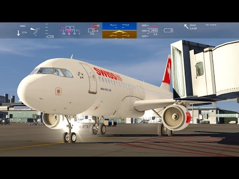 Flying From LAX to Zurich Airport + + Aerofly FS 2