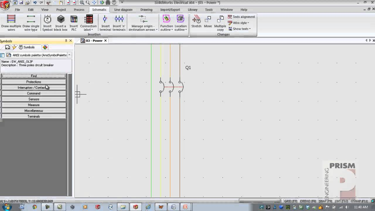 creating wire diagrams with solidworks electrical [ 1280 x 720 Pixel ]