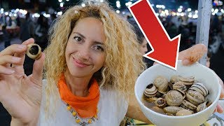 Trying MOROCCO INTERESTING Street Food! (I Ate Snail)