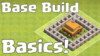 Clash Of Clans Base Build Beginner's Guide TH3 | Best TH3 Farming Trophy Hybrid Explained!