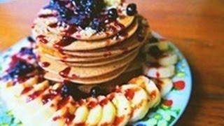 Vegan Pancake Recipe    Gluten Free  Oil Free
