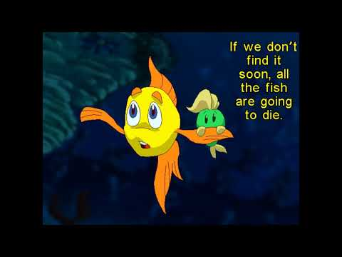 Let's Play Freddi Fish And The Case Of The Missing Kelp Seeds - Freddi And Luther
