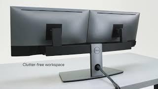 Dell stojan pro dva monitory MDS19 482-BBCY DELL-MDS19