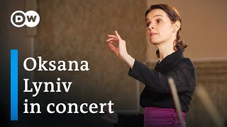Oksana Lyniv & the Youth Symphony Orchestra of Ukraine play WA Mozart, FXW Mozart and Hubarenko