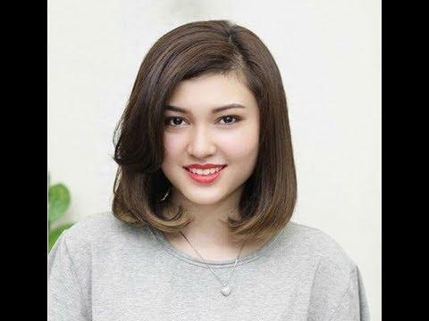 Kiểu tóc ngắn cho mặt tròn chuẩn không cần chỉnh