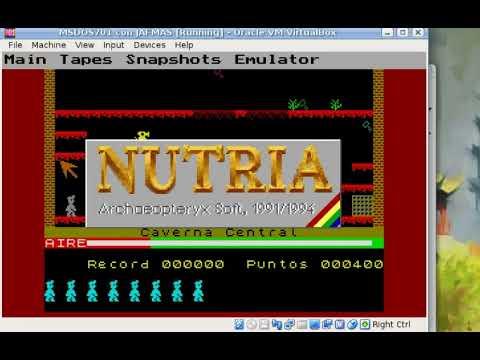 NUTRIA: one of the (few) oldest ZX Spectrum emulators