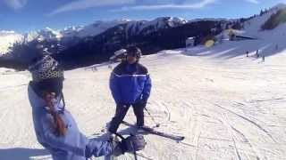 Samoëns 2012 : Interpellation gendarmerie à ski !