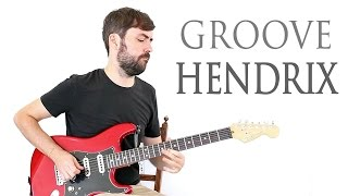Rock Blues Groove Estilo Jimi Hendrix - Guitarra Blues Rock
