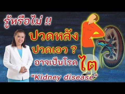 รู้หรือไม่!! อาการปวดหลัง ปวดบั้นเอว อาจเป็นโรคไต | kidney disease | พี่ปลา Healthy Fish