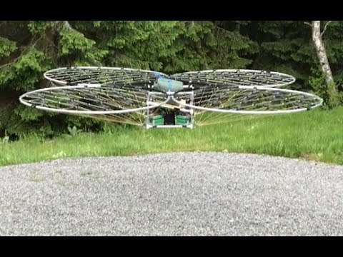 chAIR- Manned multirotor Episode 18 Quadcopter style