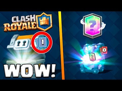 THIS RARELY HAPPENS IN CLASH ROYALE - X5 GIANT CHESTS AND LEGENDARY OPENING!