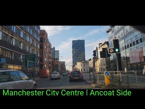 Manchester City Centre Drive On Ancoats Side  4K   City Centre Tour #4k