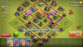 Get 3 star in clash of clans