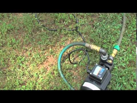 Review of Harbor Freight's Item 62805 or 69297 Fresh water Pump