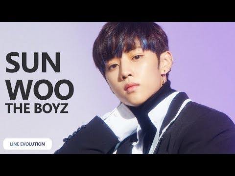 THE BOYZ - Sunwoo (Line Evolution) (2017-No Air) | TheSeverus