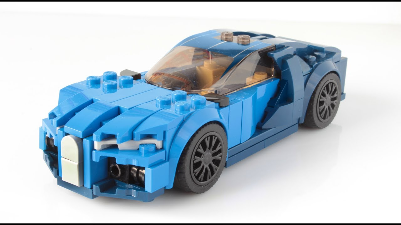 lego bugatti chiron moc in minifig scale youtube. Black Bedroom Furniture Sets. Home Design Ideas