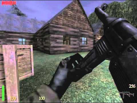 Wolfenstein: Призраки войны (аддон RTCW) Прохождение !Без ранений! (+все секреты)