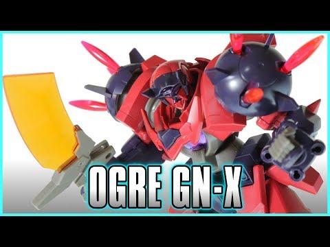 HGBD 1/144 Ogre GN-X Review - GUNDAM BUILD DIVERS - オーガ刃-x レビュー