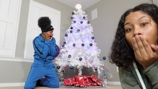 OUR FIRST CHRISTMAS TREE TOGETHER!!!