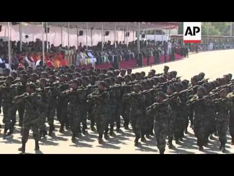 Military parade marks SLanka Independence Day