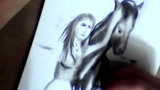 Рисунок коня карандашом (уровень - любитель)