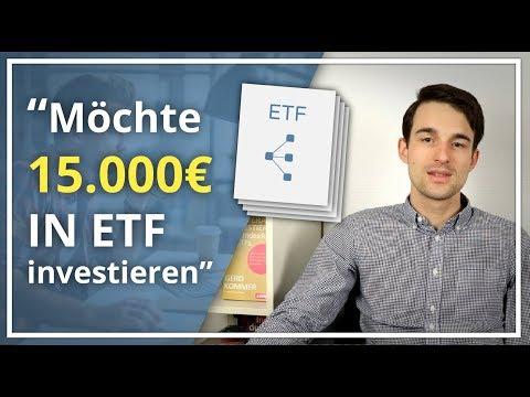 27-Jähriger Designer hat 15.000€ zum Investieren in ETF