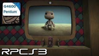 RPCS3 0.0.8-9528 - LittleBigPlanet - Pentium G4600 - Test