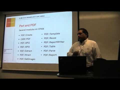 Perl and PDF