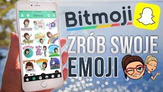 Zrób swoje Emoji czyli Bitmoji dla Snapchata!