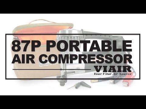 Viair 87P Portable Air Compressor for Tire inflating