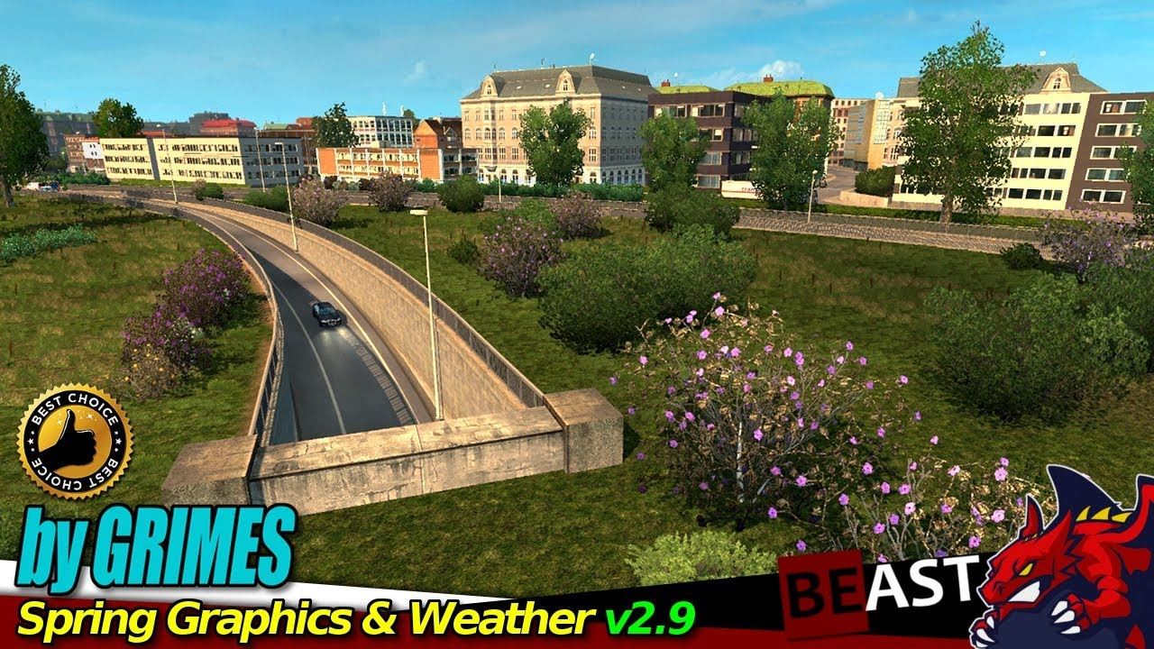 ETS2 (1 31b)   weather mod