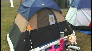 Students Camping Out For Zags Game Against Saint Mary's