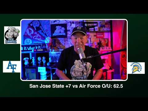 San Jose State vs Air Force Free College Football Picks and Predictions CFB Tips Saturday 10/24/20