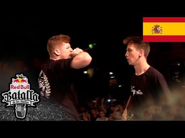 BTA vs WALLS – Final: Barcelona, España 2018   Red Bull Batalla De Los Gallos