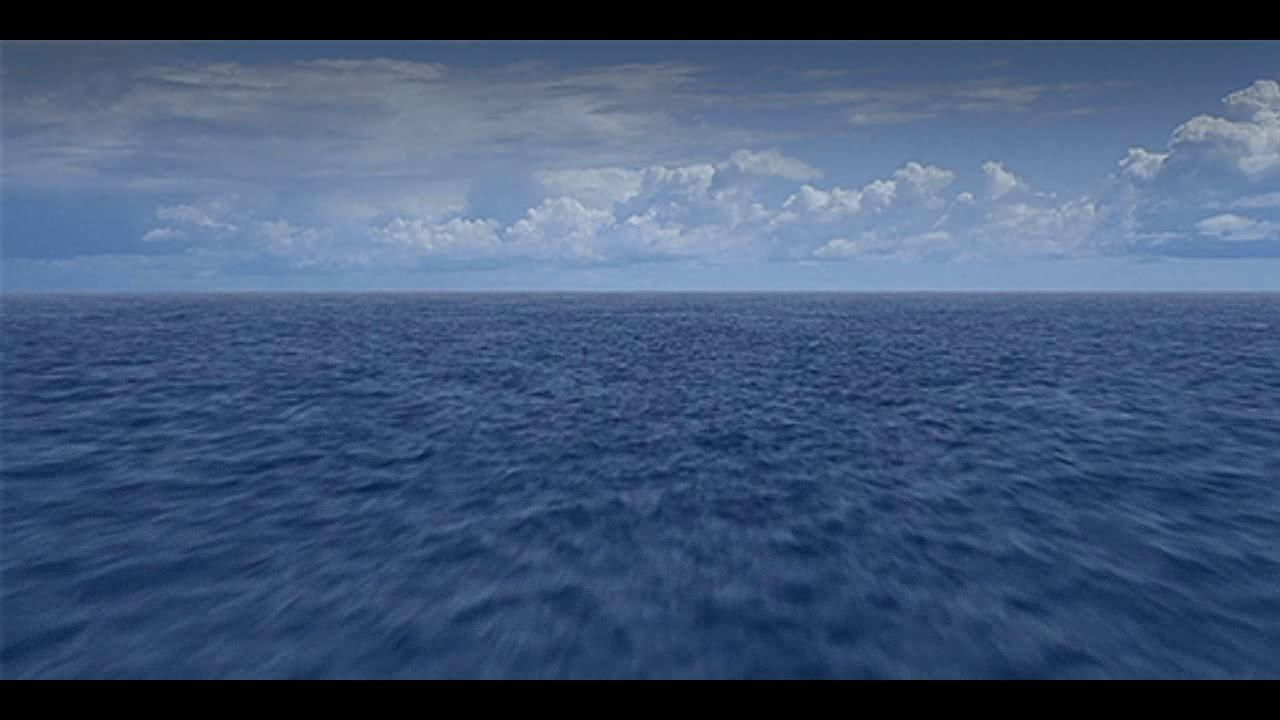 Анимация вода море