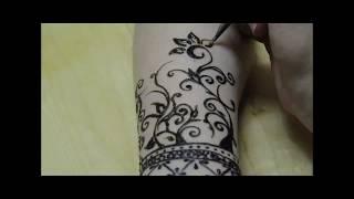 Henna/mehndi Tutorial  نقش الحناء