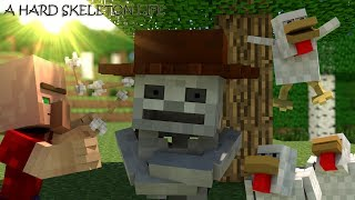 A hard skeleton life - A Minecraft Animation