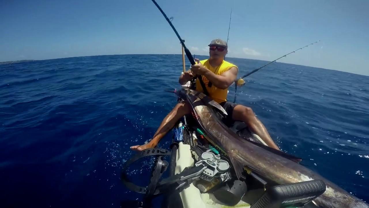 Kayak fishing kauai hawaii episode 7 kyle yokoyama for Kauai fishing report