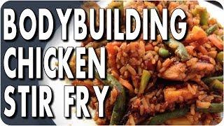 EASY BODYBUILDING MEAL  Sweet & Sour Chicken Stir-Fry